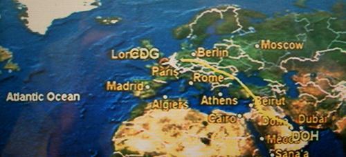 そして、そろそろパリに着きます