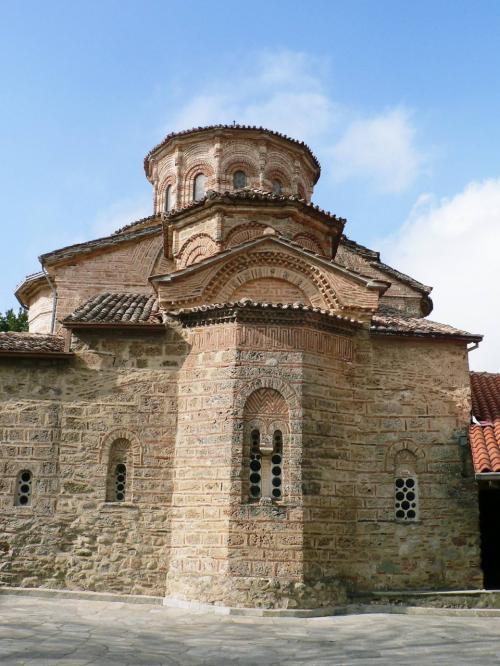 メガロ・メテオロン修道院。<br />