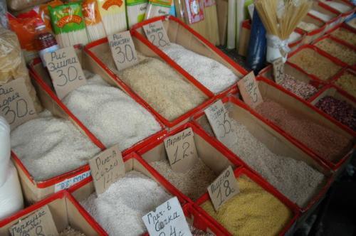 お米や穀物類
