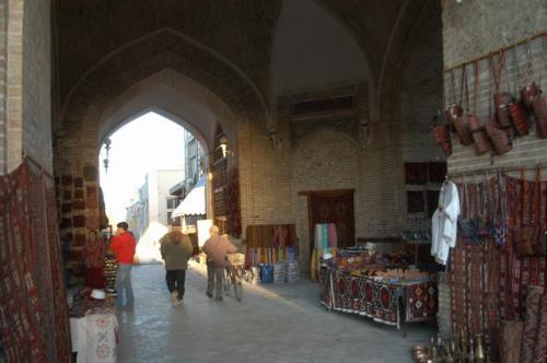タキ・サラファン(元両替商街)、今では土産物屋街