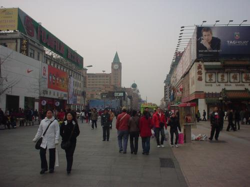 北京の目抜き通りといわれる王府井は歩行者天国になっています。多数のお店が立ち並び、大型ショッピングセンターなどもあって、散策しながら中国ならではのお土産や品物の数々を見るだけでも楽しかったです。