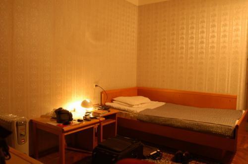 シンプルなシングルベッド、ソヴィエトスタイル