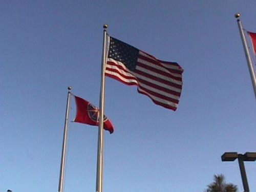 シカゴのオヘア国際空港に到着したのは現地時間の午前11時過ぎ。雲ひとつない青空、冷たくて強い風、はためく星条旗、アメリカに来たぁ〜!という感じです。<br /><br /> 到着ロビーでは、先にロサンゼルスから着いていたYN氏が待っていてくれました。我がGDISTのHP(http://www.linkclub.or.jp/~ak-model/)の翻訳を受け持ってくれる彼と会い、話をすることも今回の旅の目的のひとつです。送迎バスに乗り込み、空港近くのホテルにチェックイン。