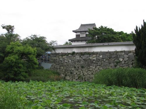 福岡城の潮見櫓<br />