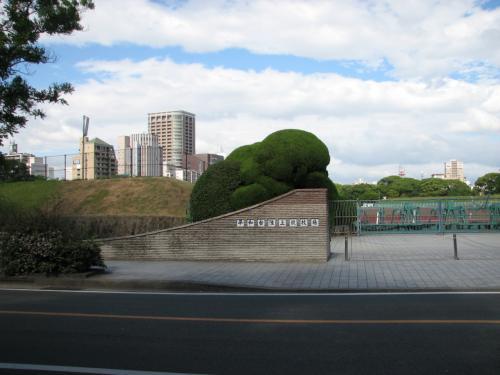 毎年、福岡国際マラソンが開催される平和台陸上競技場