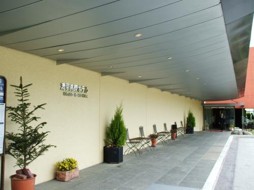 午後2時頃には清里高原ホテルに到着。玄関入り口で荷物を下ろし、車を駐車場へ回す。駐車場が少し離れているのがやや難点である。