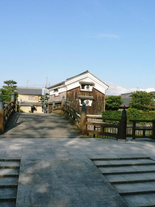 「安居橋」(あんごばし)。<br />
