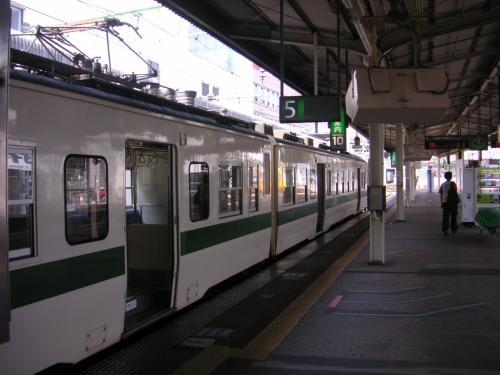又も乗り換え。<br /><br />     福島駅