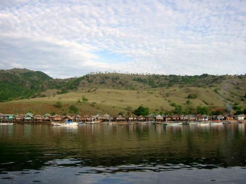 コモド島集落