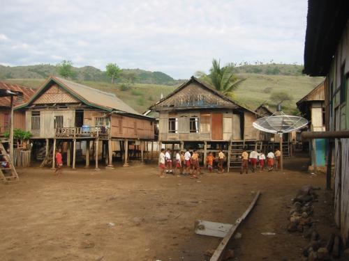 コモド島の学校