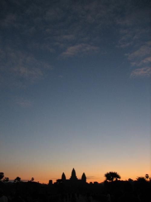 空は快晴。観光日和な1日になりそうな予感。