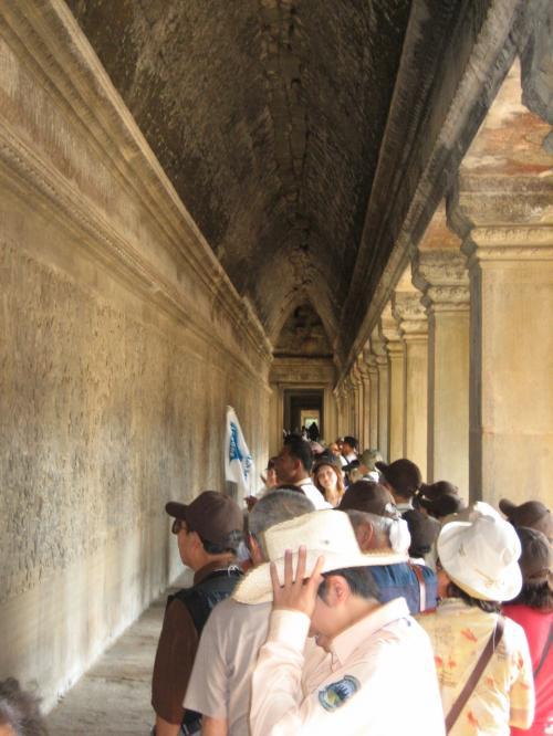 そして、内部へ。観光客でいっぱい。特に多かったのは中国人と韓国人。日本人より多かったのでは?
