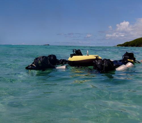 午後は、海洋実習の続きです。<br />個人的に最難関の実技だった、「プカプカ仰向けで10分間浮いている。」がありました。<br />他の人はなんなくやってましたが、これは、ほんとにつらかったです。<br />まず、浮かない。。<br />なんでなんでしょう?<br />仕方がないので、背泳ぎを10分間やってました。<br />ただ、波があるので、海水がぶ飲みで、ほんとにきつかったです。<br />あと、プカプカ浮いてると船酔いみたいな状態になってしまい、気持ち悪い状態でこの後の実習をこなさなくてはならなかったのがきつかったです。<br />