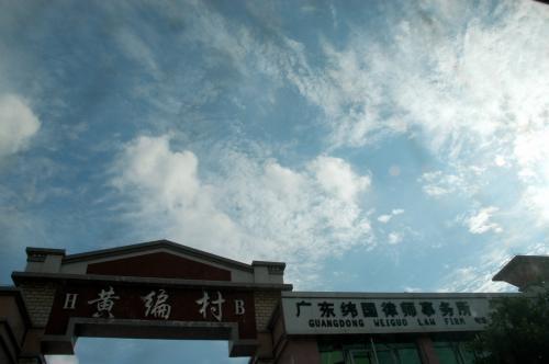 夏の朝の雲は、何だか寝坊して大慌てしているよう。<br /><br />日の差し込みが、少し眩しいです。