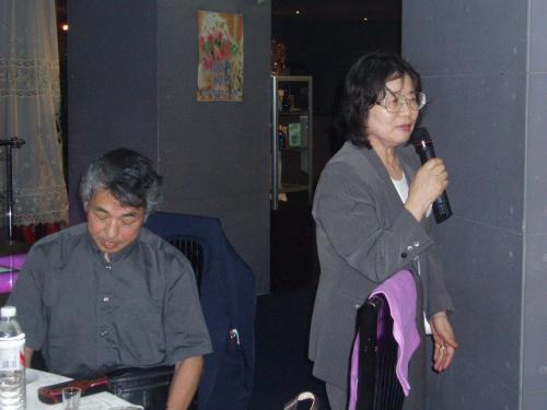 北海道からいらっしゃったSさん御夫妻。延辺大学で教鞭をとられます。