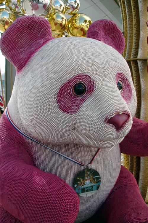 海港城に現れたカラフルなパンダ!!!<br /><br />何だろうと思ったら、、、