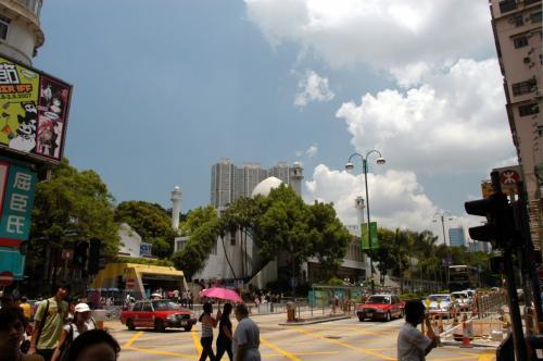 九龍公園方向。<br /><br />お天気サンサンです。<br />食事の後、チェックアウトしてから伺いたいと思います。<br />