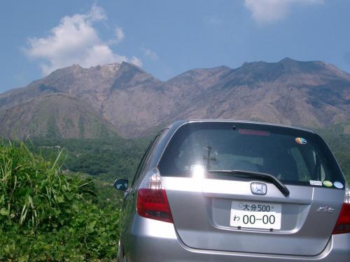 地図や写真だけでは分かりません。<br /><br /> 来てみて初めて、この山の雄大さを感じ取ることができました。<br /><br /> ここから噴出する火山灰が、鹿児島市内にも届くそうです。