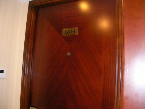 泊まった部屋は18階、1816号室です。