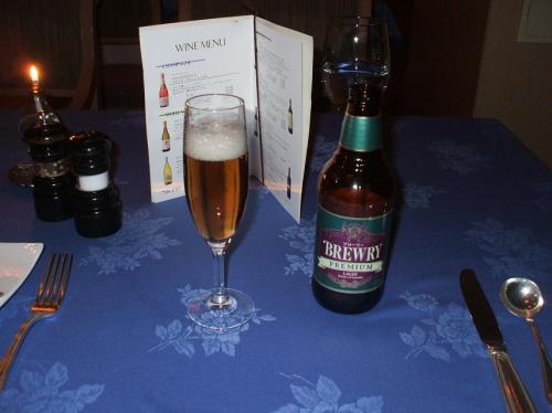 酒の飲めない私の定番「ノンアルコールビール」(税込525円)気分だけでも酔える。