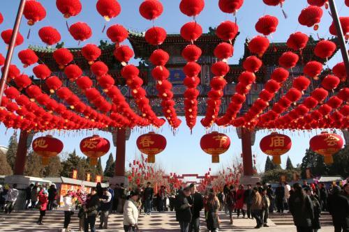 北京で春節を味わう (地壇公園春節文化廟会)