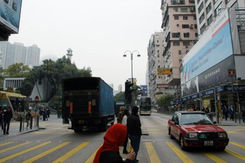 同じ方向を広角で。<br /><br />左が九龍公園です。
