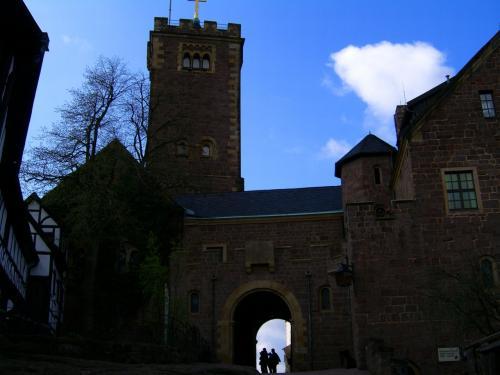 お城の中庭。