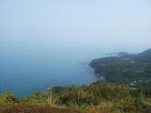 展望台より太平洋を望む(2)
