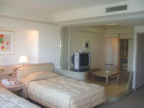 次はアネックス棟ラージ(Cタイプ和洋室)903号室。部屋の広さは48.1?とかなり広くなっている。ルームチャージ(13500円)