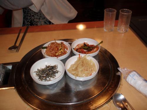 サイドディッシュ<br />韓国みたく、おかわり出来ます。<br />