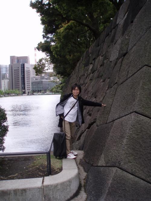 江戸城<br />石垣ですけど