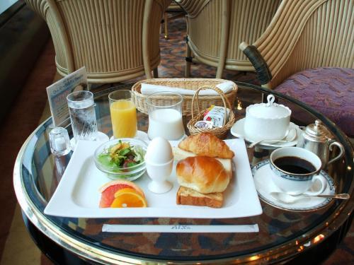 別の日のシーガルでのコンチネンタルの朝食。あまり変わりばえがしないので4泊とも同じでは少々飽きる。