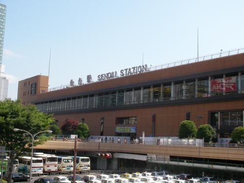 JR仙台駅の外観です。