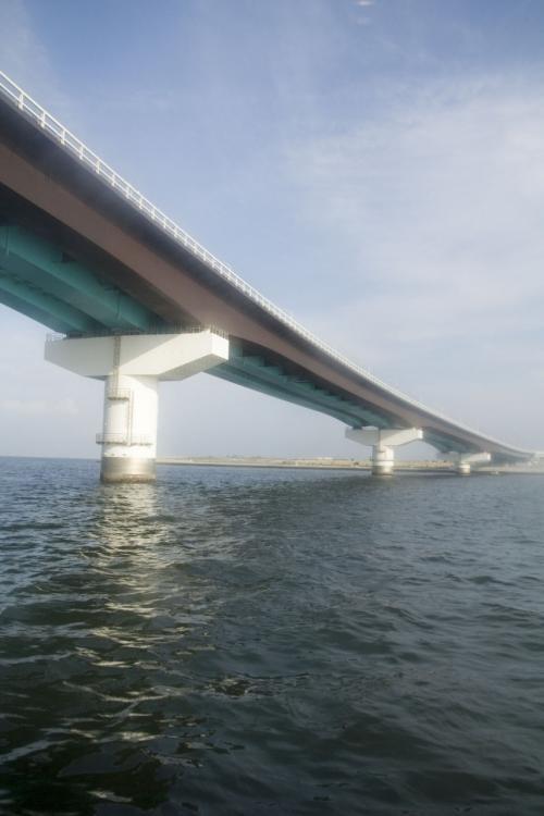 友誼大橋を……<br />http://4travel.jp/traveler/ross/pict/13385103/<br /><br />じゃなくて、神戸スカイブリッジを越えて、目的地に。