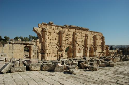 ゼウス神殿下の遺跡