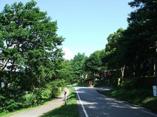 女神湖畔の周回道路はマラソン・ジョギング・散歩に最適である。毎年夏休みに入ると多くの学生が女神湖畔に集まり各種の練習に励む。