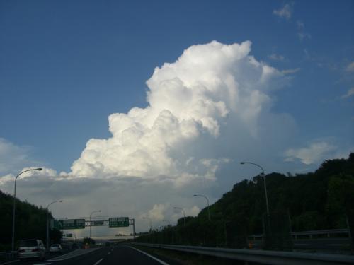 きっと同じ雲だね!