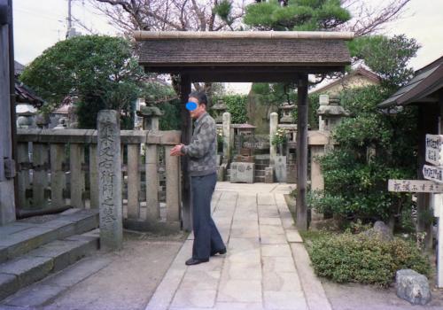 ■鳥取市内に立ち寄る?<br />境内にある又右衛門の墓で手を合わせる。<br />かつて訪れたことのある場所と物語が繋がる場所を見つけるのは、謎が一つ解けたみたいで面白いもの。