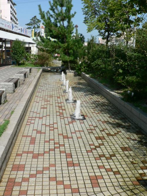 陸軍香里製造所跡に造成された香里団地の光景。