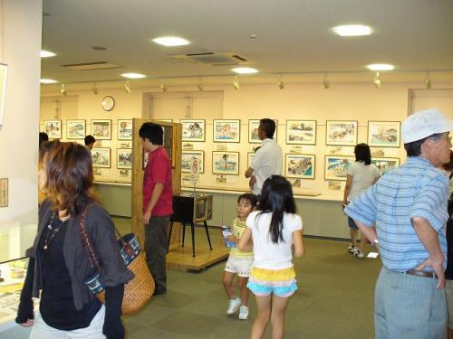 水木しげる博物館の内部。<br />基本写真撮影お断りでした。<br />少ないですが参考まで。
