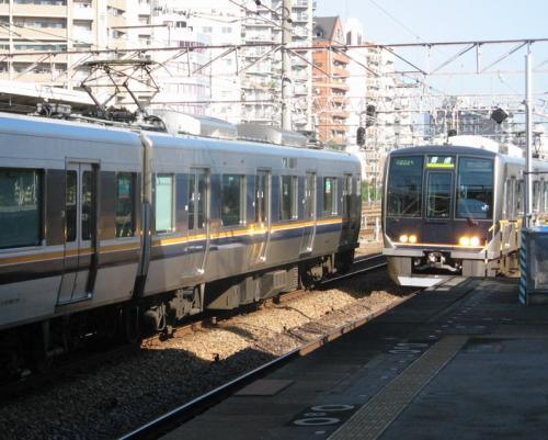 新大阪から大阪までは、1駅ですね。<br />