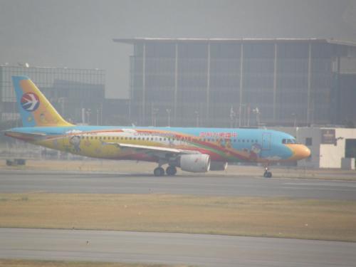 中国東方航空@香港空港