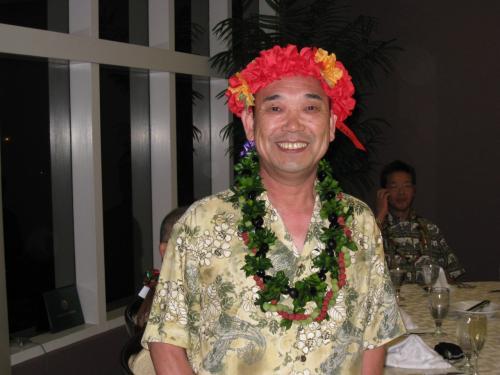 今回、ハワイで還暦の方のお祝いもしちゃいました♪<br />M先生、おめでとうございます!