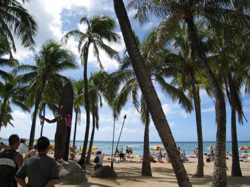 最終日の1日はフリータイム。<br />皆さん、お天気も良かったのでハナウマベイにシュノーケリンク゛に行ったり、ショッピングをしたりしてハワイ滞在最後の日を楽しんでいました♪<br />