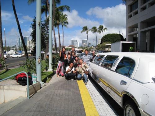 そして関空行の先生達とのお別れ。<br /><br />今回も皆さん沢山、勉強をしながらハワイという国も同時に楽しまれて私達もとっても楽しかったです!<br />こんなに笑い転げたのは久しぶりかもしれません。<br /><br />また、何処かで皆さんにお会いできます事を楽しみにしております。<br />これからもこの貴重な経験を生かして臨床にお役立て下さい。<br /><br />お疲れ様でした!!<br /><br />マハロ〜♪