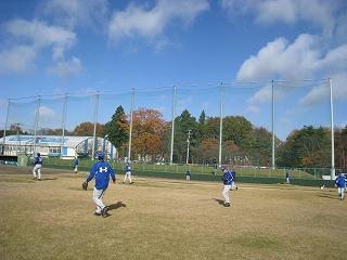 本当に野球してます。