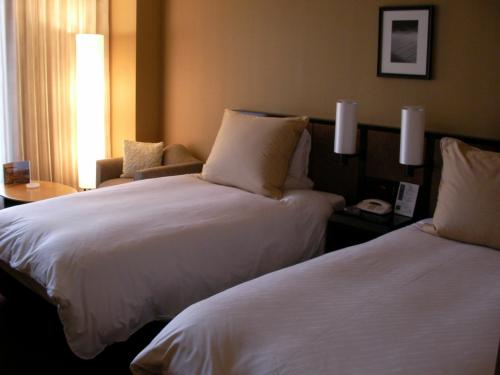 こちらが泊まったお部屋。1448号室に泊まりました。