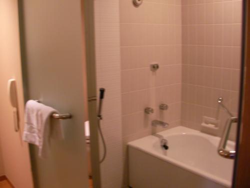バスルームはこんな感じでした。