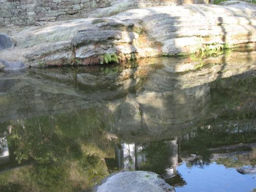 虎頭岩は本当に虎のよう。