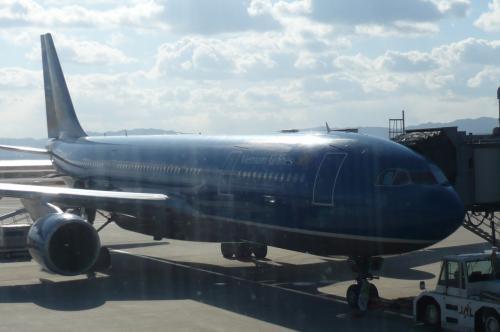 2009年 1月11日 関空発 VN941にて、ホーチミンへ。